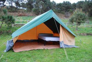 Alojamiento en el Camping Islas Cíes
