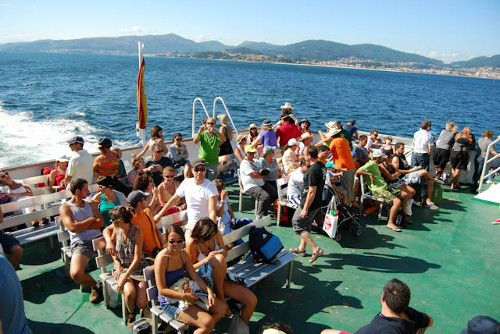 Barco Islas Cíes desde Baiona
