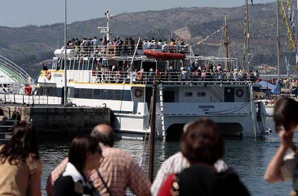 Barco Islas Cíes desde Vigo