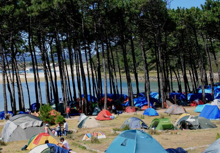Cómo reservar en el camping de las Islas Cíes