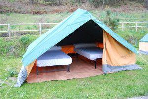 Dónde dormir en el Camping Islas Cíes