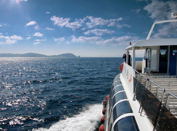 Barco Isla de Ons