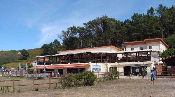 Restaurante camping Islas Cíes